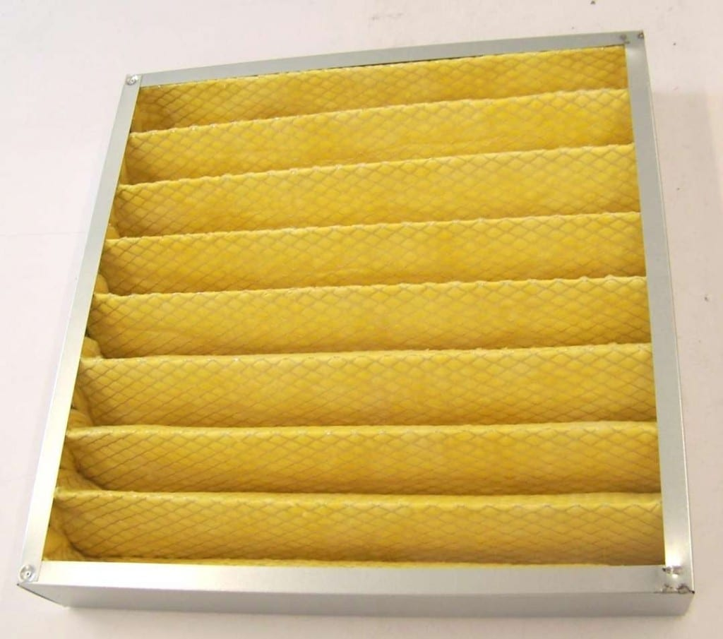 Filtr kasetowy wysokotemperaturowy